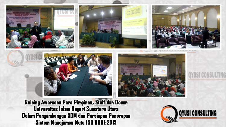 seminar training iso 9001 UINSU Medan