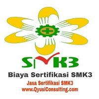 biaya sertifikasi smk3