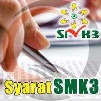 Sertifikat SMK3 - Persyaratan