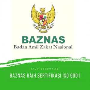 baznas raih sertifikasi iso 9001