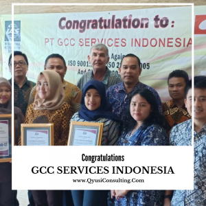 gcc serivices indonesia Konsultan ISO 1