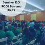 Seminar ISO 9001 UNAS