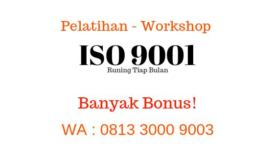 pelatihan iso 9001 workshop