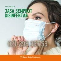 Jasa Disinfectant Rumah  Setu Sari