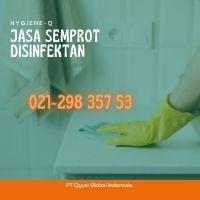 Jasa Disinfectant  di Rawajati