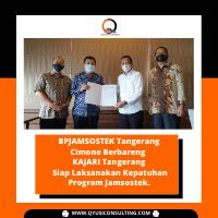 BPJAMSOSTEK Tangerang Cimone Berbareng KAJARI Tangerang Siap Laksanakan Kepatuhan Program Jamsostek.