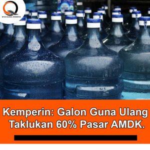 Kemperin: Galon Guna Ulang Taklukan 60% Pasar AMDK.